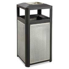 Evos Series Ashtray-Top Waste Container