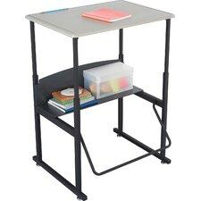 AlphaBetter® Metal Adjustable Height Open Front Desk