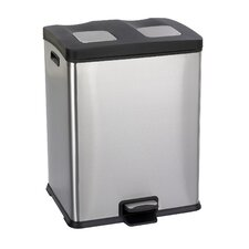 15-Gal Right-Size Rectangular Multi Compartment Recycling Bin
