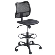 Vue Series Mesh Extended Height Chair, Vinyl Seat