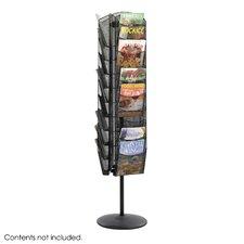 Onyx™ Rotating Mesh Magazine Stand