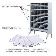 E-Z Sort Five Additional Mail Shelves