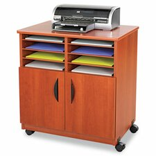 Printer Stand with Sorter Compartments
