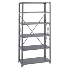 Commercial 6 Shelf Shelving Unit Starter