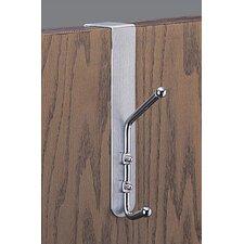 Over-the-Door Double Coat Hook