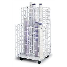 Wire Roll Files Filing Cart