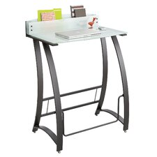 Computer Desk with Xpressions Stand Up Workstation