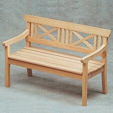 Drachmann Teak Garden Bench