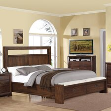 Riata Storage Panel Customizable Bedroom Set