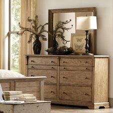 Sherborne 8 Drawer Dresser with Mirror