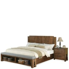 Terra Vista Wood Footboard