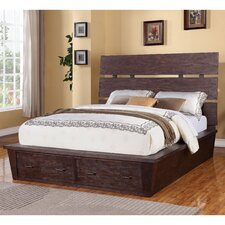Promenade Storage Slat Bed