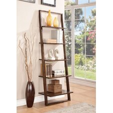 """Lean Living 72"""" Leaning Bookcase"""