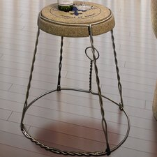 Champagne End Table