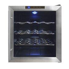16 Bottle Single Zone Freestanding Wine Refrigerator
