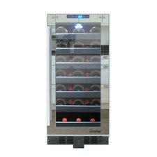 33 Bottle Single Zone Built-In Wine Refrigerator