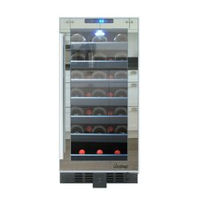 33 Bottle Single Zone Built-In Wine Refrigerator