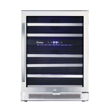 Connoisseur 46 Bottle Dual Zone Built-In Wine Refrigerator
