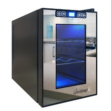 6 Bottle Single Zone Freestanding Wine Refrigerator