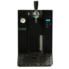 Pressurized Kegs Beer Dispenser in Black