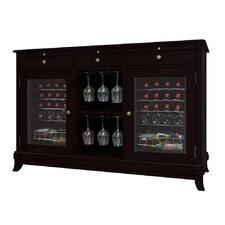 Portofino 36 Bottle Dual Zone Freestanding Wine Refrigerator