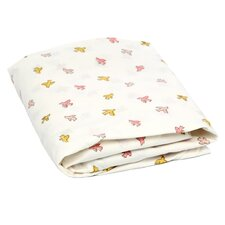 Swallow Fitted Crib Sheet