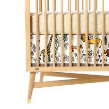 Safari Canvas Crib Skirt