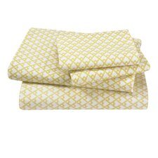 Masala 4 Piece Citrine Sheet Set