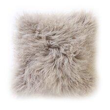 Tibetan Sheepskin Throw  Pillow
