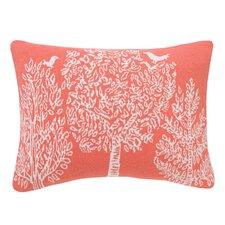 Treetops Knitted Boudoir Pillow Cover
