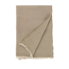 Anton Camel Merino Wool Throw
