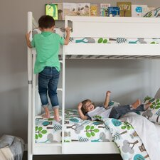 Mid-Century French White Bunk Bed