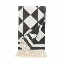 Henri Ink Throw Blanket