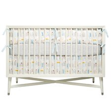Skyline Percale Crib Skirt