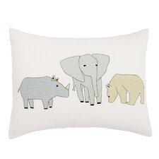 Caravan Cross Stitch Pillow