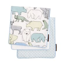 Caravan 2-pack Burp Cloth Set