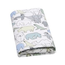 Caravan Fitted Crib Sheet