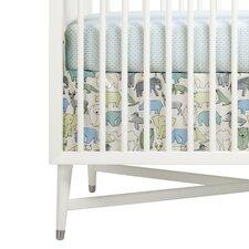 Caravan Percale Crib Skirt