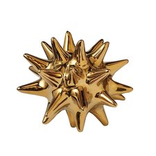 Urchin Shiny Gold Decorative Object