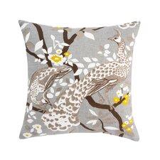 Peacock Citrine Pillow