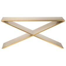 Gold Rex Console Table