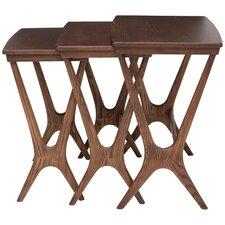 Gemma Ash 3 Piece Nesting Table