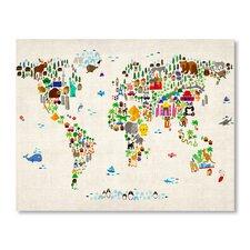 World Animal Map