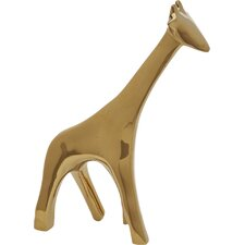 Giraffe Gold Figurine