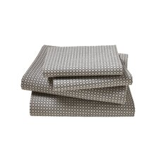 Fez 4 Piece Charcoal Sheet Set