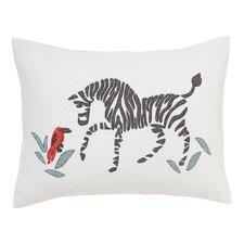 Zebra Cross Stitch Pillow