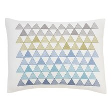Triangles Cross Stitch Pillow