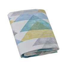 Triangles Fitted Crib Sheet