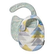 Triangles 2 Pack Bib Set (Set of 2)