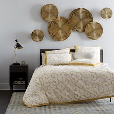 Sunburst Brass Wall Décor